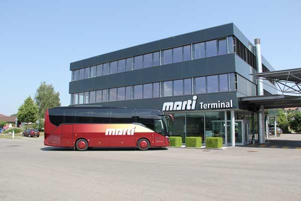 Marti Reisen 30 Plätzer Reisebus