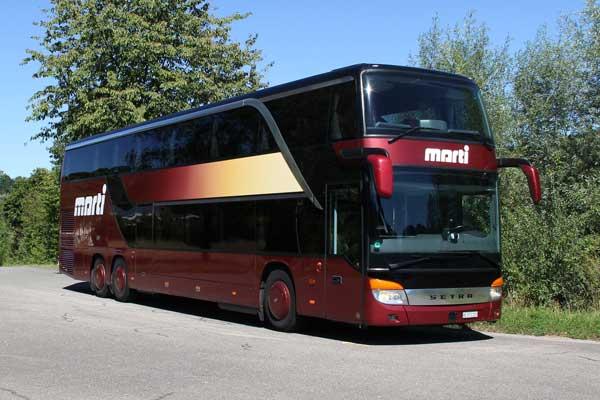 Doppelstock Reisecar von Marti