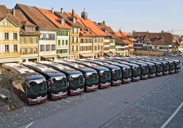 Marti Car Flotte in Aarberg
