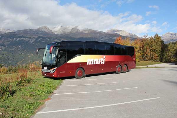 Marti Car 49 Plätzer Reisebus