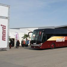 Marti Car an Reise-Festival