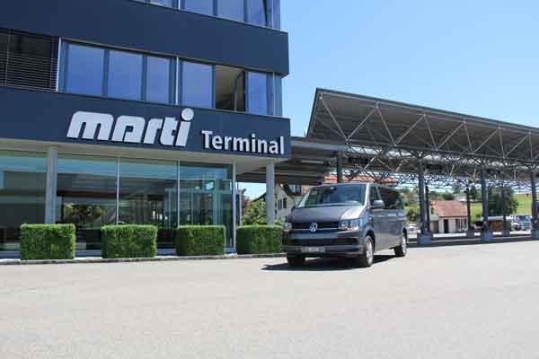 Marti VW T6 Multivan vor Car Terminal