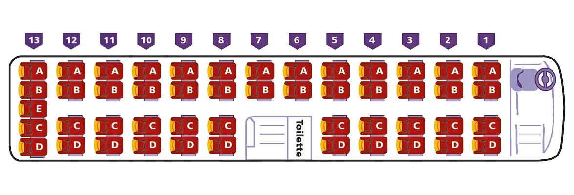 Marti Car Sitzplatzspiegel 49 Plätzer