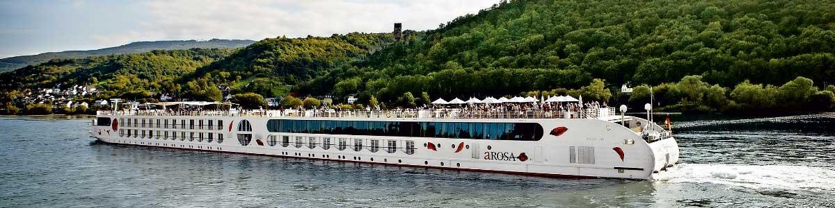 A-ROSA Flussschiff auf Rhein
