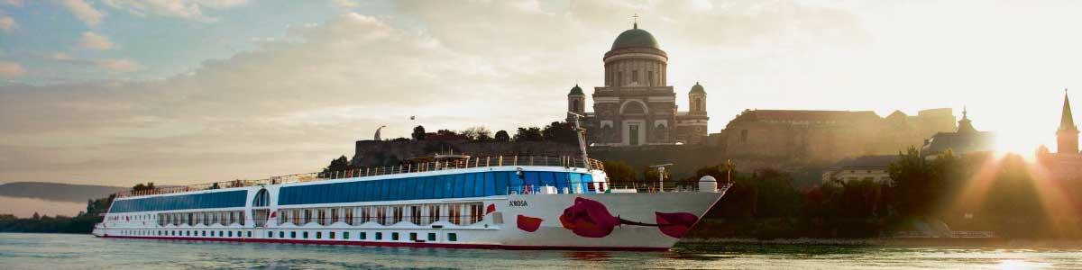 A-ROSA Flussschiff auf Donau
