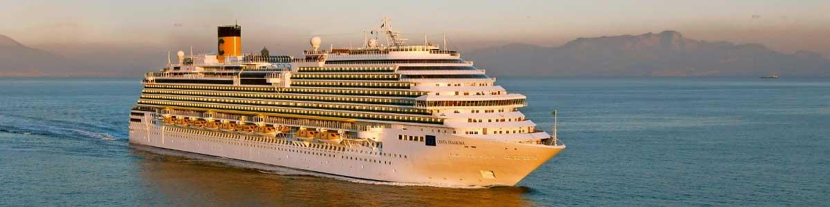 Schiff während Marti Kreuzfahrt