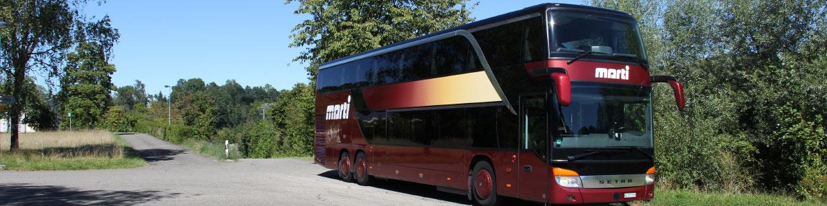 Marti Reisen Doppelstockbus