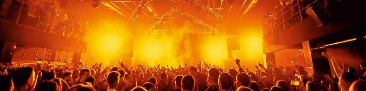 Publikum an einem Konzert