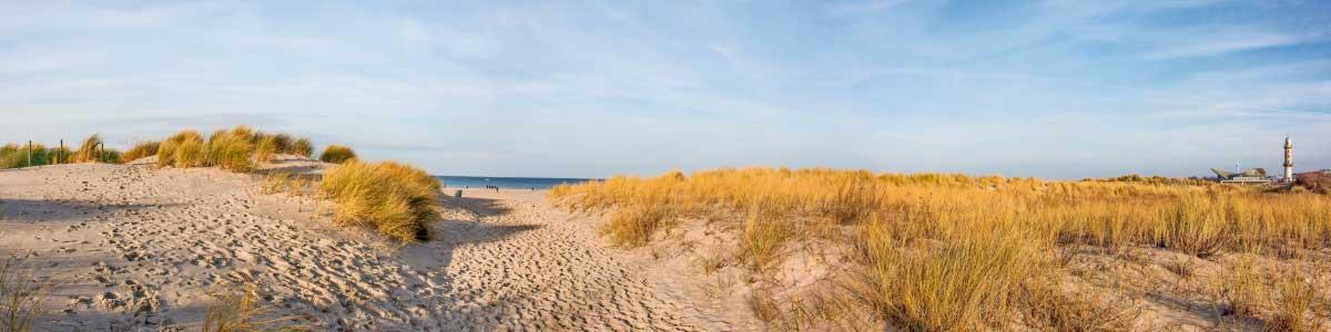 Sanddünen in Norddeutschland