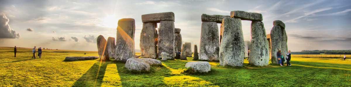Stonehenge in England auf Rundreise