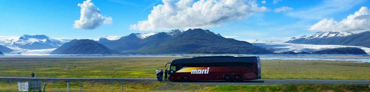 Marti Car auf Island Rundreise