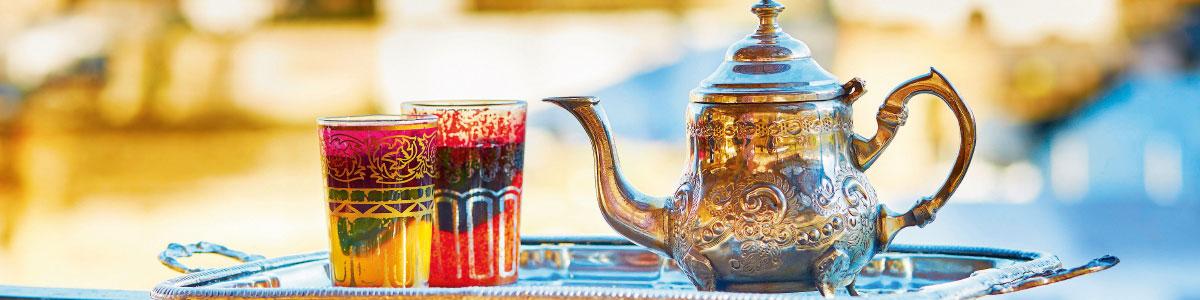 Typischer Tee auf Marokko Rundreise