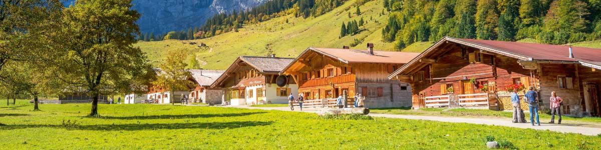 Berghütte auf Rundreise durch Österreich