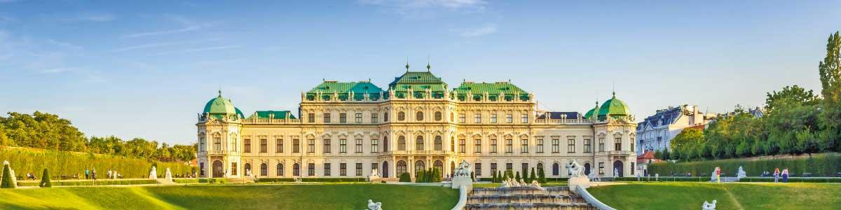 Schloss Belevue in Wien auf Rundreise