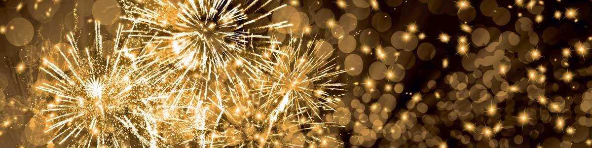 Feuerwerk für Silvesterreise
