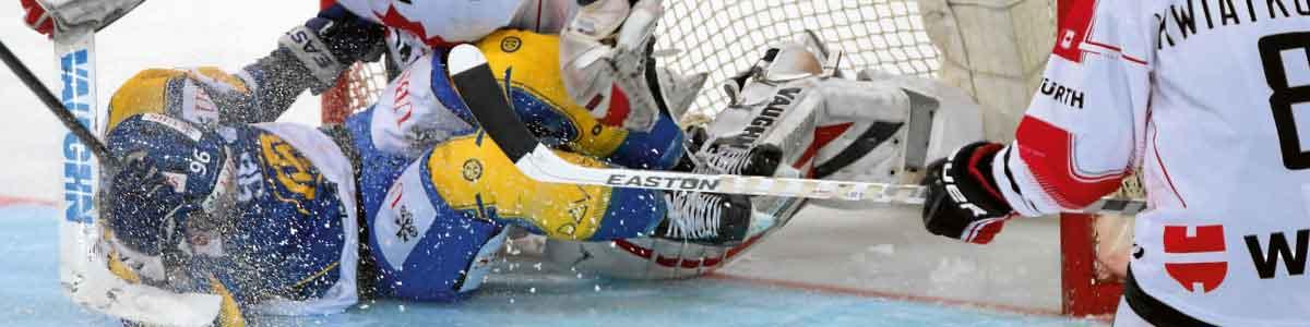 Eishockeyspieler während Spengler Cup in Davos