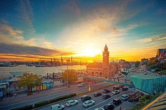 Hamburg - Nordsee - im Car und mit FLYER