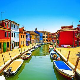 Perlen am Golf von Venedig