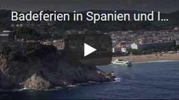 Badeferien in Spanien und Italien