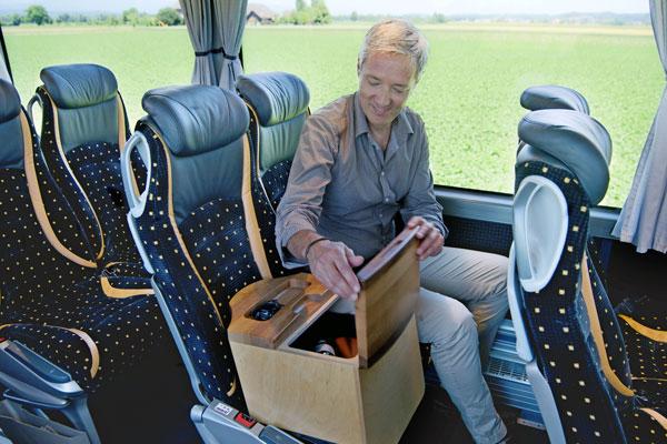 Marti Reisen Doppelsitz zur Alleinbenützung