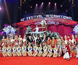 Zirkusfestival von Montecarlo